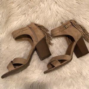 Indigo Road Fringe Sandals